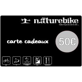 Carte Cadeau Naturebike 50€