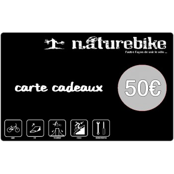 Carte Cadeau Naturebike 50€