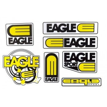 Planche Stickers Eagle