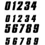Numéro de plaque/cadre Insight