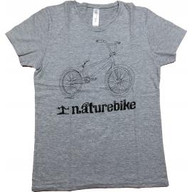 T-Shirt Naturebike Bmx Femme