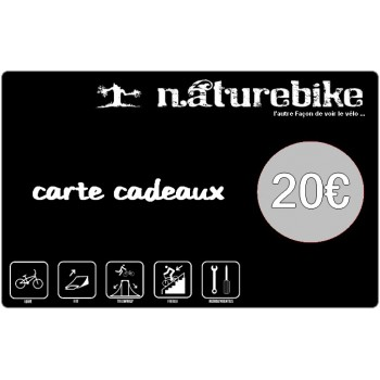 Carte Cadeau Naturebike 20€/50€/100€
