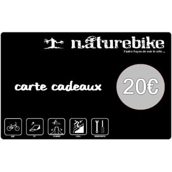 Carte Cadeau Naturebike 20€/50€/100€
