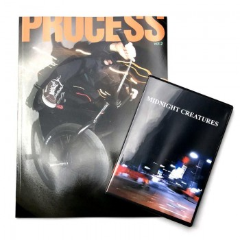 Magasine PROCESS Vol.2 + DVD + Poster