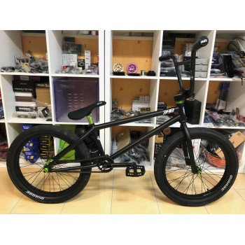 "BMX Custom 34R Noir&Vert 21"""