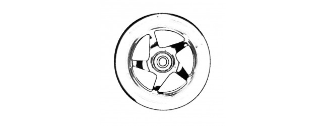 Roues 100mm